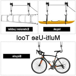 Bike Hoist For Garage Ceiling Storage Bicycle Lift Mounted H