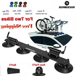 RockBros Bike Suction Rooftop Carrier Quick Installation Roo