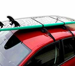 Block Surf Surfboard Roof Rack, Universal Fit for Cars and S