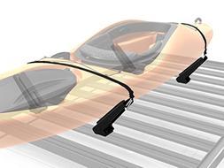 Pro Canoe & Kayak Carrier for Slimline II Roof Rack with Adj