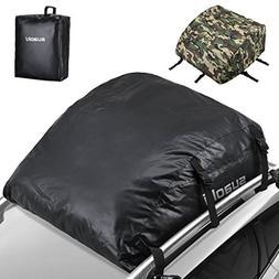 SUAOKI Car Top Carrier 100% Waterproof Roof Top Cargo Bag 15