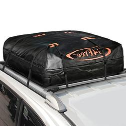 G4Free 18.5 Cubic Feet Car Top Carrier, Easy to Install Soft