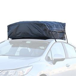 Car Roof Bag - 100% Waterproof Roof Top Cargo Bag No Rack Ne
