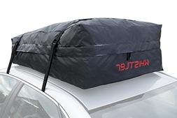 Car Roof Bag Bundle- 100% Waterproof Roof Top Cargo Bag NO R