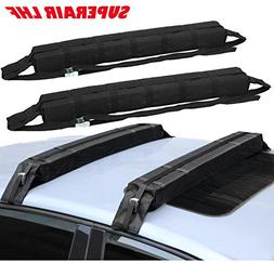 Car Soft Roof Luggage Rack Cargo storage Carrier Surf Roof R