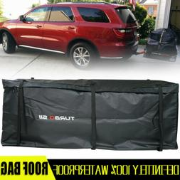 Cargo Carrier Bag Hitch Mount Luggage Roof Top Rack Mount Ex