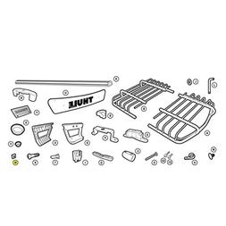 Thule Carrier Basket Replacement Square Nut - 8535163