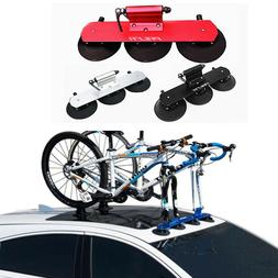 CSC Bicycle Rack Suction Roof-Top Bike Car Racks Carrier MTB