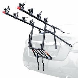 Allen Sports Deluxe 4-Bike Trunk Mount Rack Fit Most Sedans,