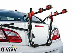 VViViD Deluxe Sport 2-Bike Cushioned Trunk Mounted Carrier R