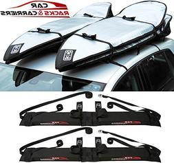 Car Rack & Carriers Double Surfboard Car Rooftop Rack, 2 Sur