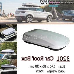 Free Shipping 320L Car <font><b>Roof</b></font> Box Dual Sid