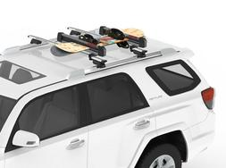 Yakima FreshTrack 4 Ski & Snowboard Rack w/locks: We Take Of