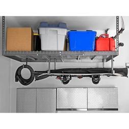 Garage Ceiling Storage Rack Shelf Unit 4 x 8 Adjustable Over