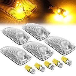 For GMC C/K Series 1500-3500 5 X LED Cab Roof Top Light Lens