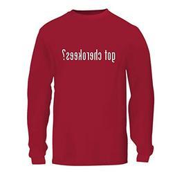 got Cherokees? - A Nice Men's Long Sleeve T-Shirt Shirt, Red