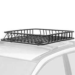 Apex Heavy Duty RB-DLX-V2 Roof Rack Cargo Storage Basket