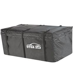 CZC AUTO Hitch Cargo Carrier Bag, 20 cu. ft Waterproof/Rainp