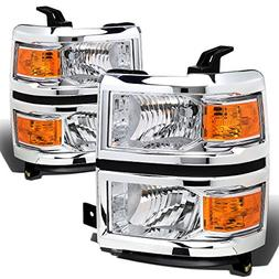 DNA MOTORING HL-OH-CSIL14-SM-AM Headlight Assembly Driver and Passenger Side