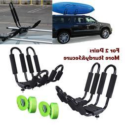 Kayak Carrier Boat Ski Surf Snowboard Roof Mount Car SUV Tru