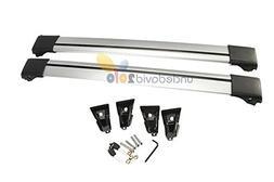 2 Pcs Kayak Jeep Roof Rack Universal Aluminum Adjustable 93-