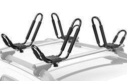 Leader Accessories Kayak Rack 4 PCS/Set J Bar For Canoe Surf