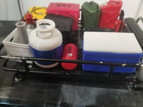 1/10 scale accessories cooler scaler combo pack. Roof scale