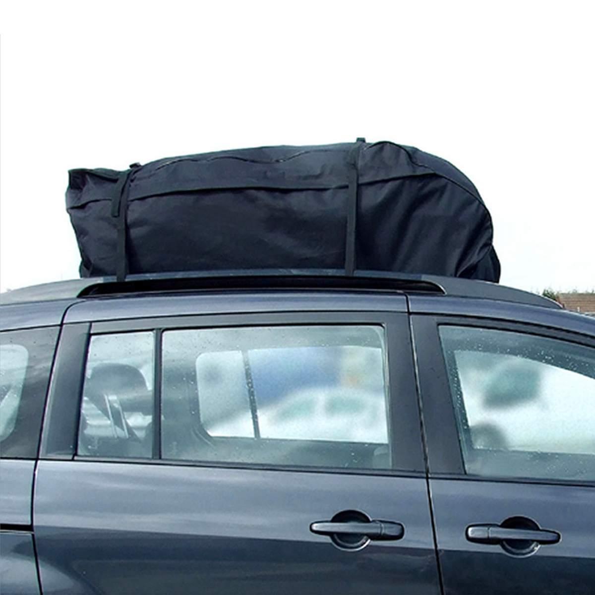 Bag Top Bag <font><b>Rack</b></font> <font><b>Cargo</b></font> Carrier Storage Waterproof Van for Cars