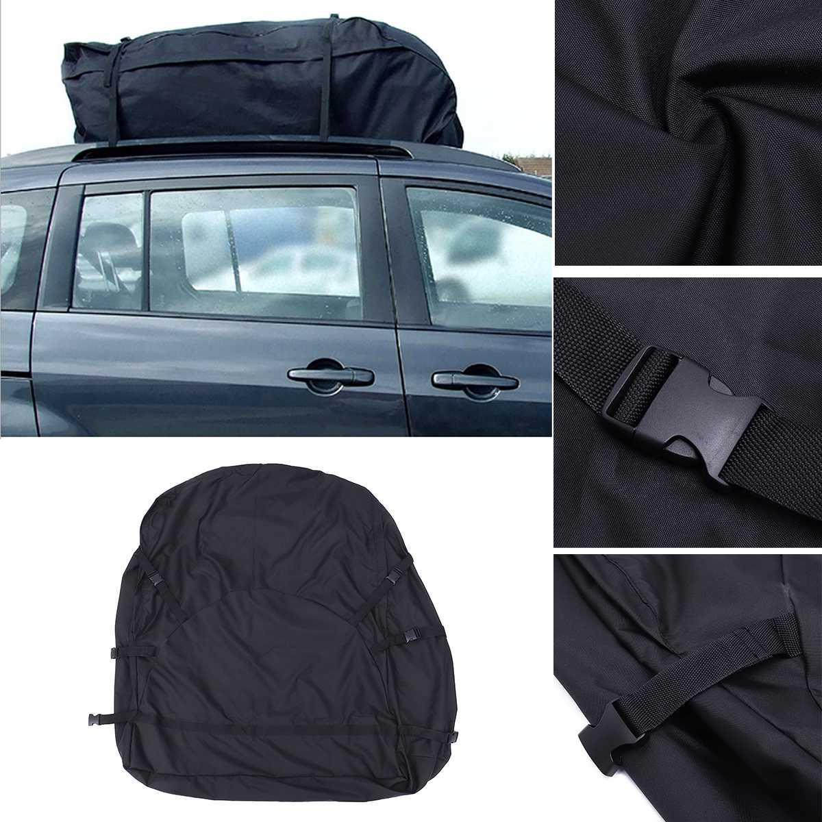 130x100x45cm Car Top Bag <font><b>Rack</b></font> Carrier Storage Waterproof Van