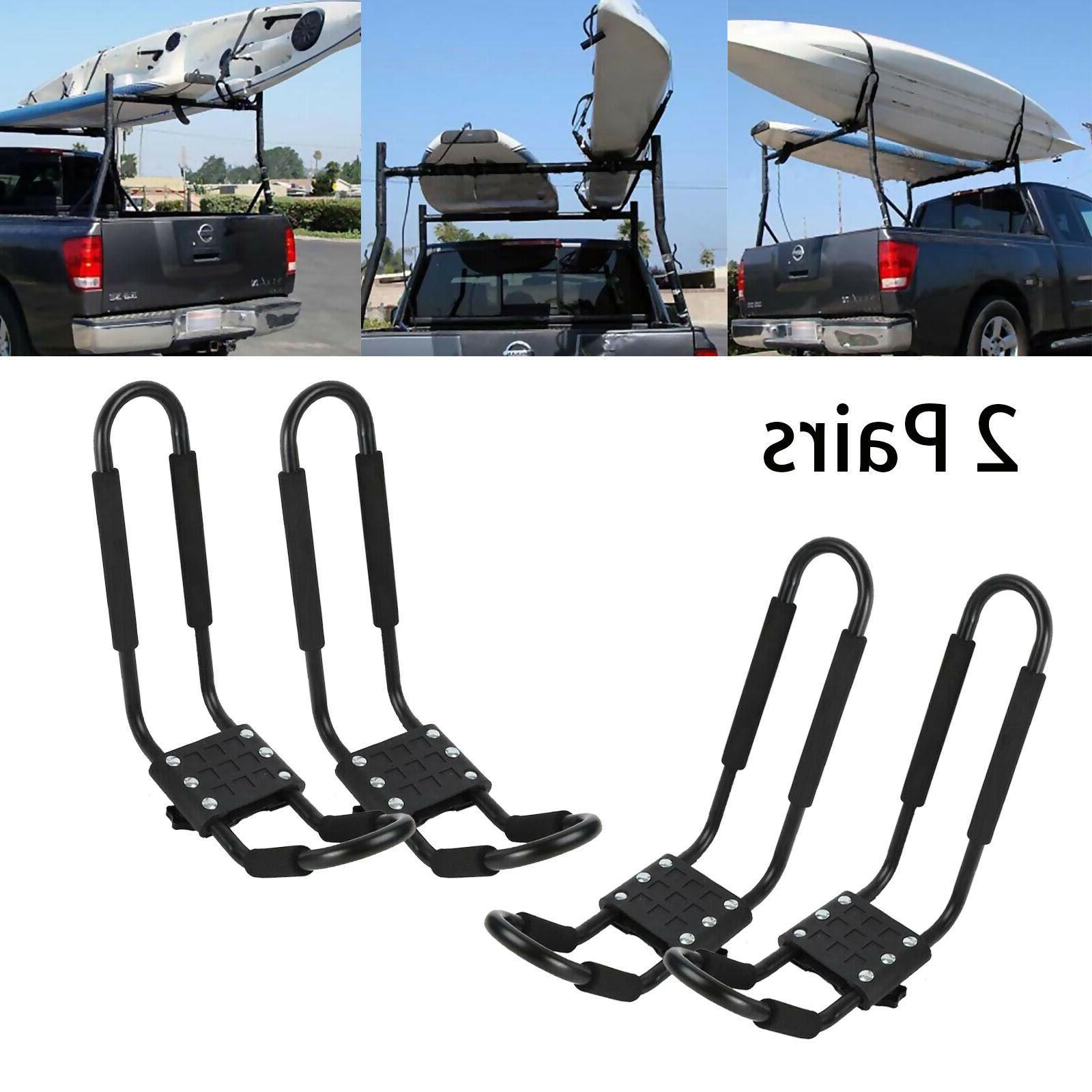 2 pairs canoe boat kayak roof rack