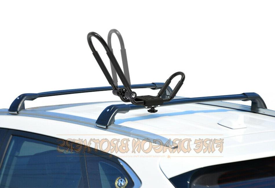 Folding Carrier J Rack Canoe Boat Car Truck