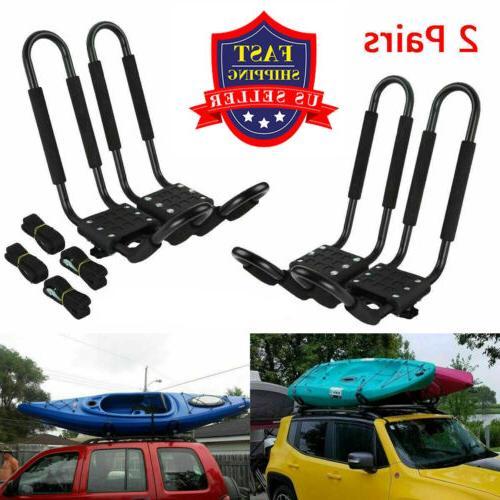 2 pairs kayak carrier boat ski surf