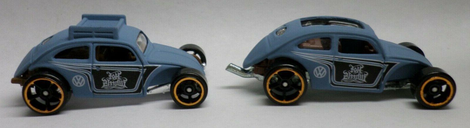 Hot 2 Lt Blue Beetle Roof Rack, Open Roof
