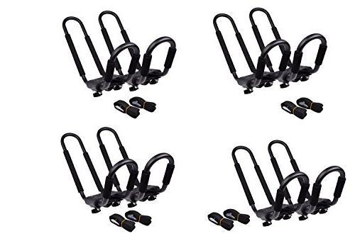 4 sets j bar rack