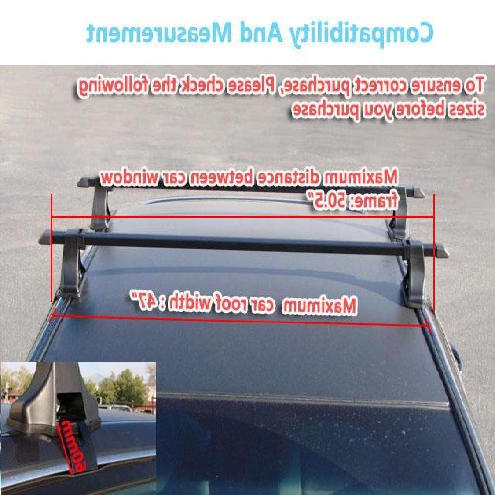 Partol 48inch <font><b>Rack</b></font> <font><b>Bars</b></font> Luggage 35KG/75LBS 4-door car/<font><b>truck</b></font>/SUV