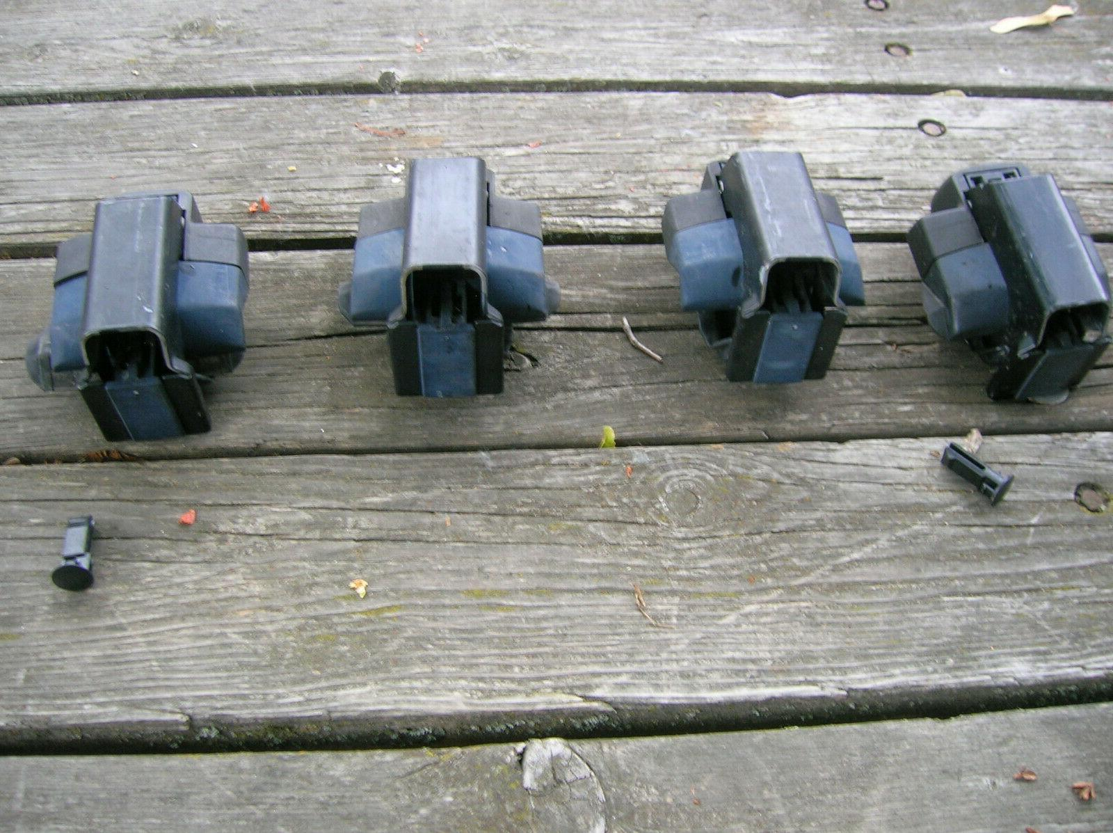 4pc foot pack, roof rail no cores.