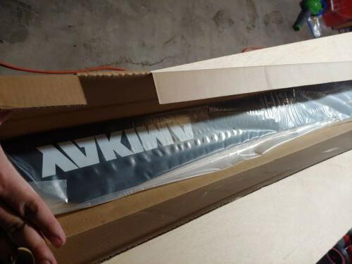 50 wind fairing spoiler for roof rack