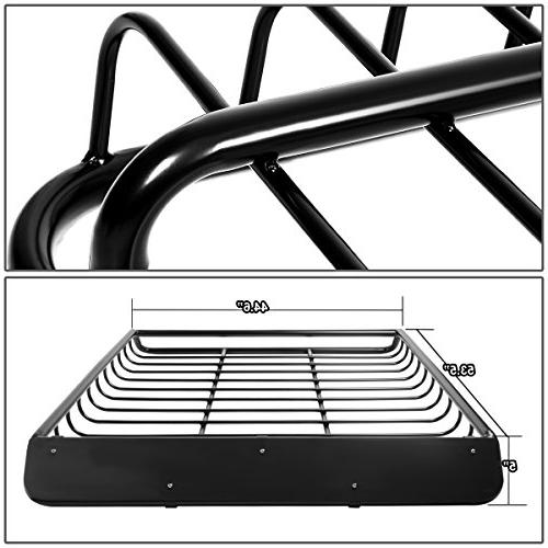 "53"" x 43"" Steel Roof Rack Top Cargo"
