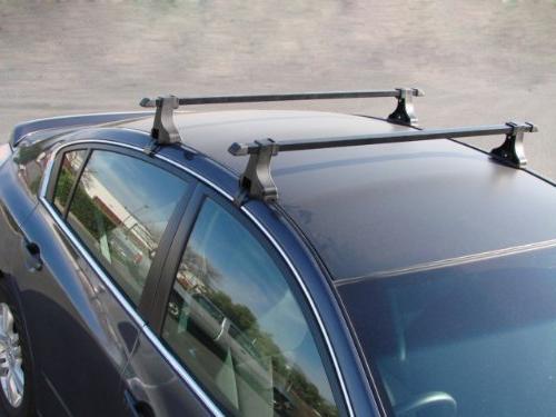 TMS Car Roof Rack Cross Bar For Snowboard Canoe luggage