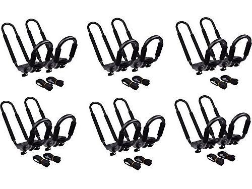 6 sets kayak roof mounted