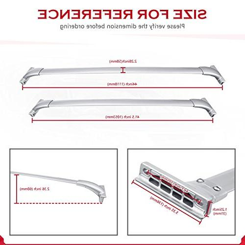 ALAVENTE Bars 2013-2017 Nissan Pathfinder Crossbar Rail