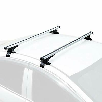 """AUXMART 48"""" Universal Bare-Roof Mounted Roof Rack Cross Bar"""