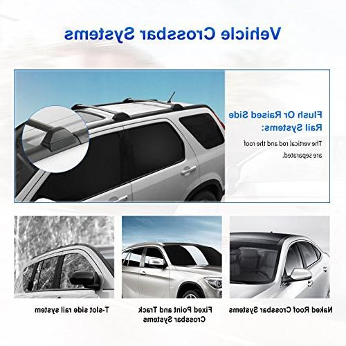 AUXMART Roof Rack Cross Bars 2002–2006 CR-V