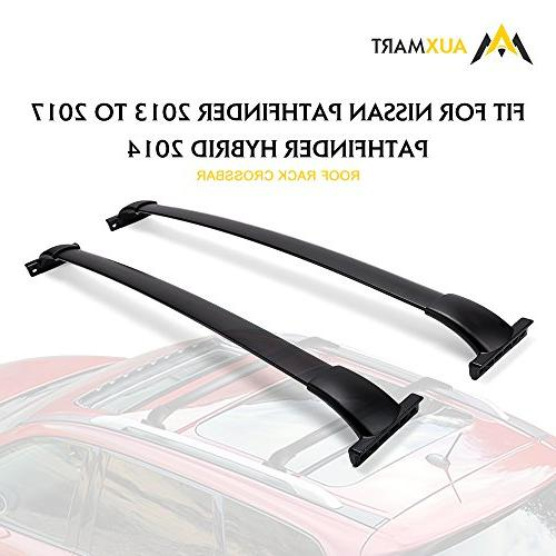 AUXMART Roof Rack Cross Bars for 2013–2017 Nissan Pathfind