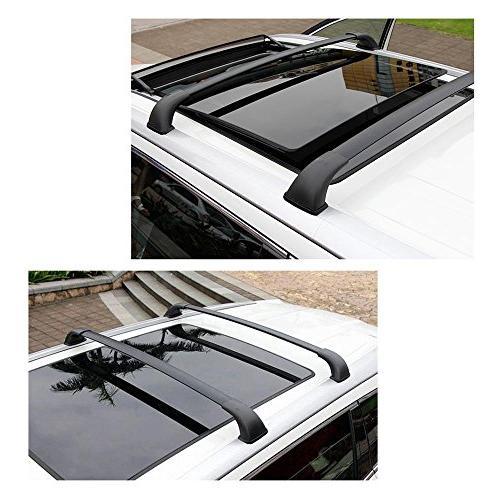 AUXMART Roof Cross Bars for 2014–2018 Toyota Highlander XLE, Limited SE Models