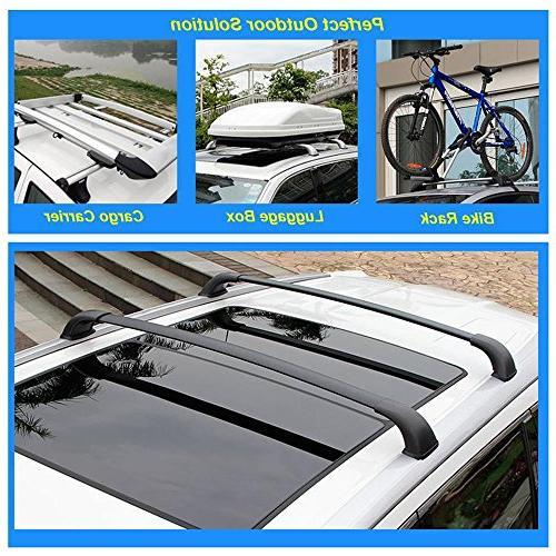 AUXMART Roof Rack Bars for Toyota Highlander XLE, Limited SE