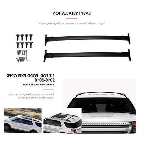 AUXMART Roof Cross Bars Ford Explorer