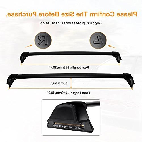 AUXMART Rack Bars for CR-V