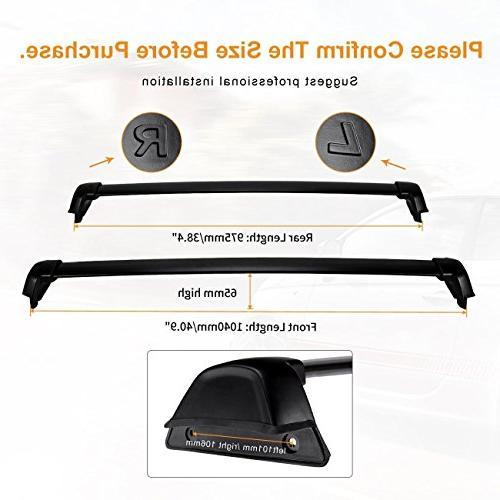 AUXMART Rack Bars for CR-V