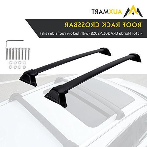 AUXMART Roof Rack Cross Bars for 2017–2018 Honda CR-V